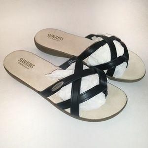 NEVER WORN SunJuns Sandals
